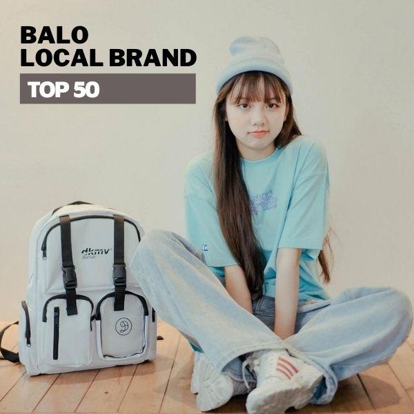 TOP 50 Balo Local Brand Đẹp- Giá rẻ