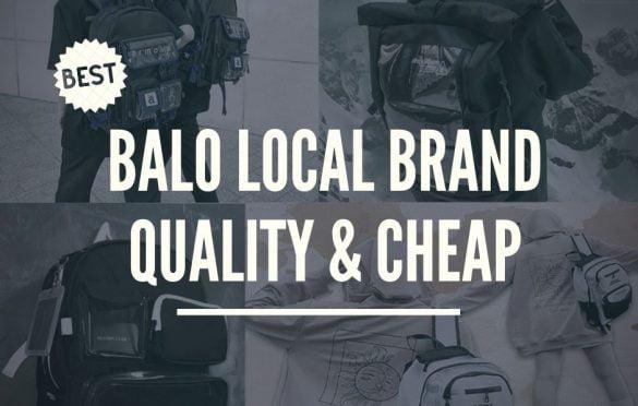 TOP 5 mẫu Balo Local Brand:  Đẹp,  giá rẻ năm 2020