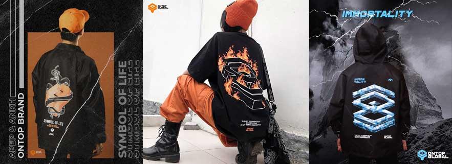 local brand ontop streetwear viet nam