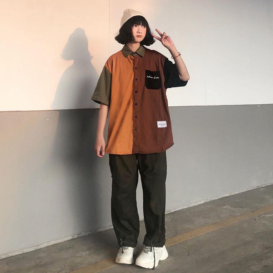áo-sơ-mi-yellow-flicker-local-brand-streetwear