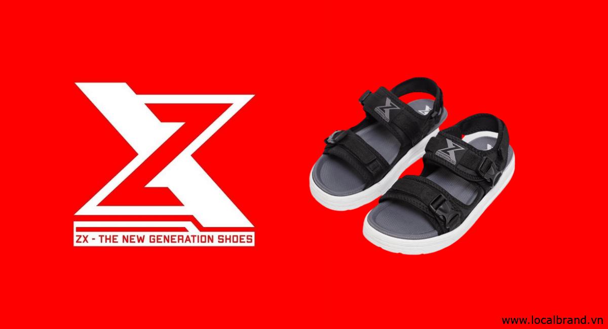 ZX –  Local brand Giày Sandal dành cho thế hệ Z