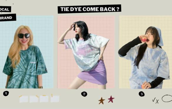 Xu hướng áo tie dye trở lại đường đua thời trang Streetwear nhờ local brand?