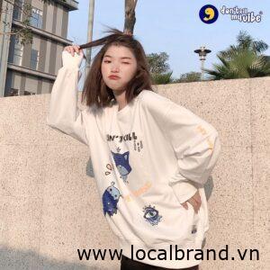 áo hoodie của local brand