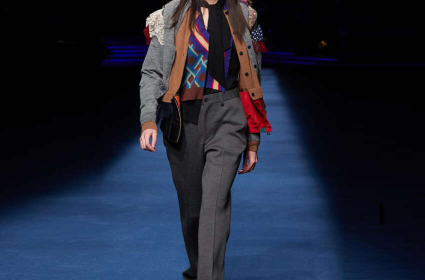 Kolor brand ra mắt FW21 tạo làn sóng thời trang chắp vá