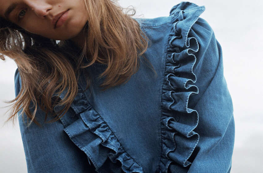 Loạt áo denim Zara brand khiến người mặc mê mẩn