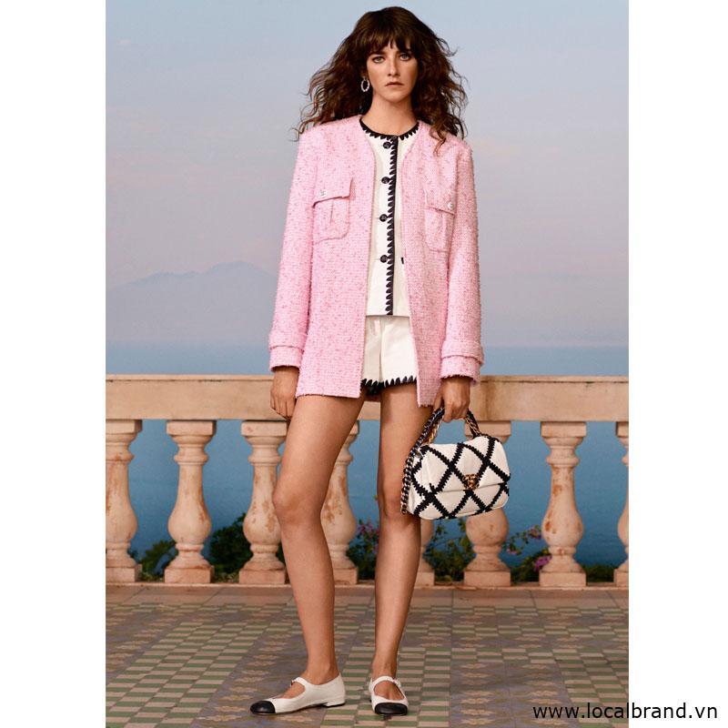 Áo khoác BOUCLÉ Chanel brand