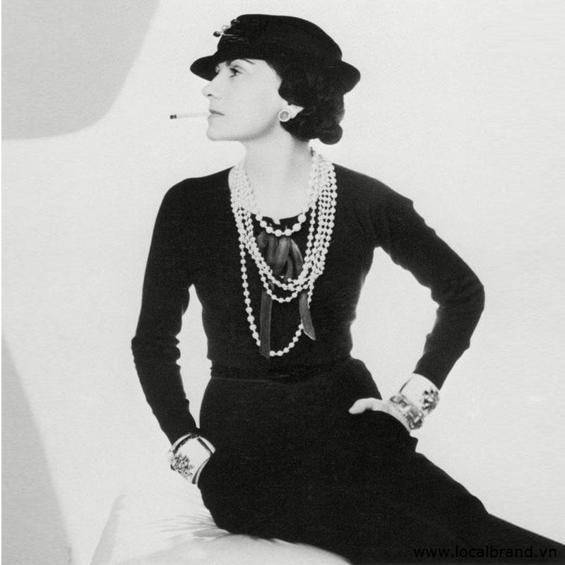 Little Black Dress Chanel brand