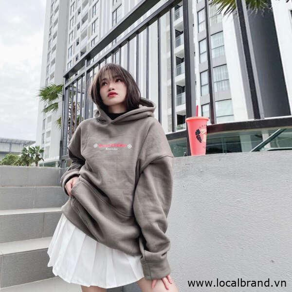 local brand hoodie giá rẻ