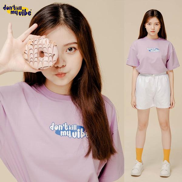 Phối áo thun local brand – Phong cách dễ thương cute pho mai que