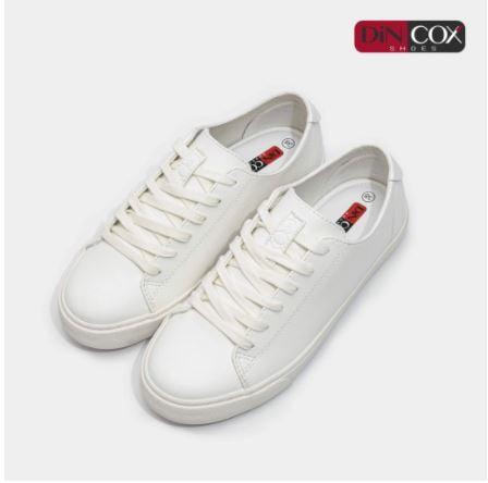 Team phong cách tối giản không thể bỏ qua local brand sneakers trắng DinCox
