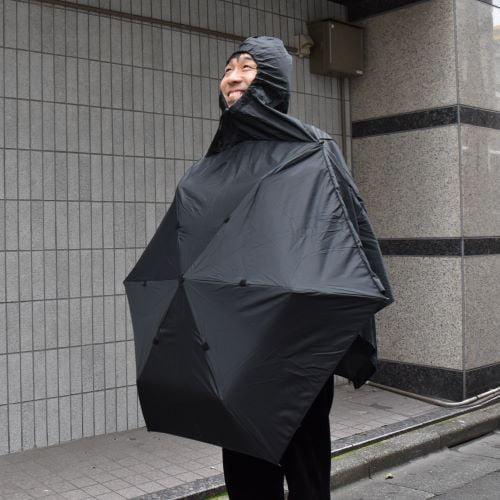 Chiêm ngưỡng phát minh ô và áo mưa 2in1 che mưa siêu cấp vip pro