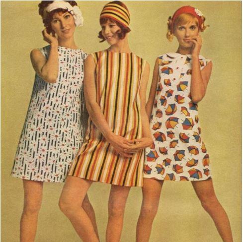 Phong cách retro thập niên 60