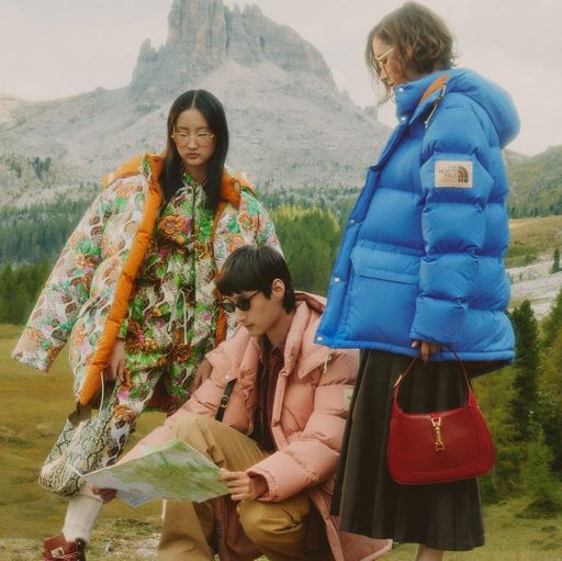 Global Brand Gucci x The North Face