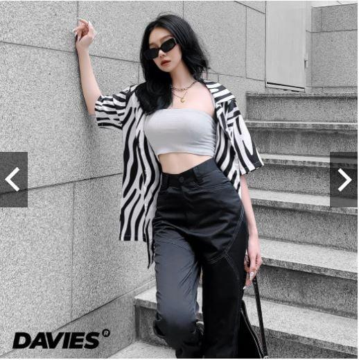 Áo sơ mi form rộng Local Brand Davies Ignore Shirt.