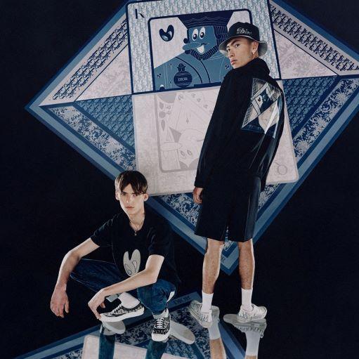 Dior cho ra mắt bộ sưu tập lấy cảm hứng từ bộ bài 52 lá
