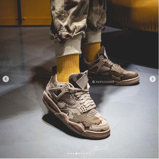 Chi tiết về đôi Nike Air Jordan 4 mang dáng vẻ hào hùng của những Cựu Chiến Binh