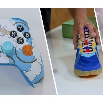 Bộ điều khiển trò chơi trong bộ sưu tập mới của Nike