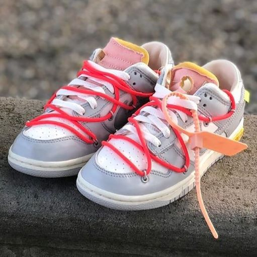 """Colorways Off-White x Nike Dunk Low """"THE 50"""" 06"""