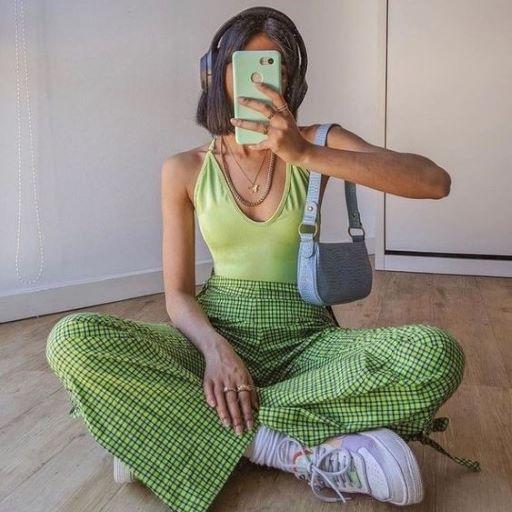 Mách nhỏ tips phối đồ tone xanh lá cho mùa hè tươi mát