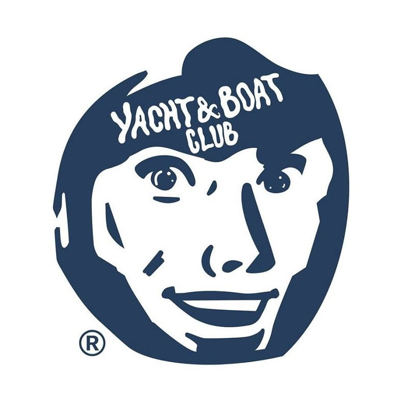 Yacht and boat club local brand