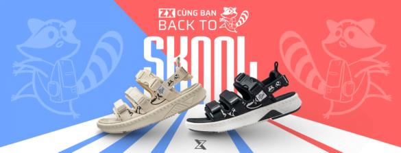 Sandal local brand ZX